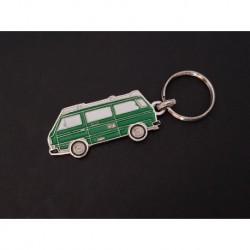 Porte-clés profil Volkswagen Transporter T3 Westfalia, Combi (vert)