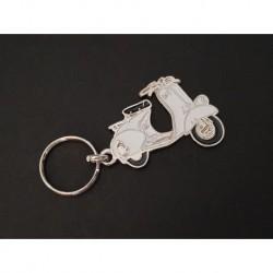 Porte-clés Vespa 125 150, Sprint VBB GL VLB (blanc)