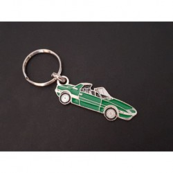 Porte-clés profil Fiat X1/9 (vert)