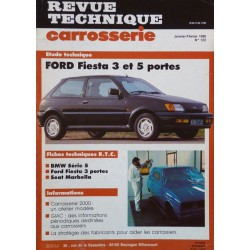 rtc revue technique carrosserie ford fiesta mk3. Black Bedroom Furniture Sets. Home Design Ideas