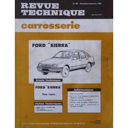 Technique carrosserie Ford Sierra