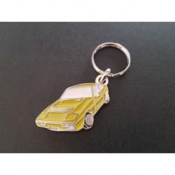 Porte-clés profil Matra Bagheera, X (jaune)