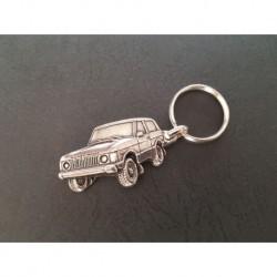 porte-clés métal relief Land Rover Range Rover