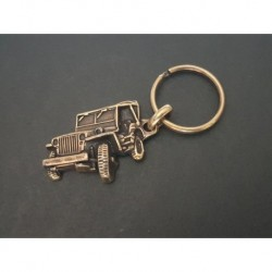 porte-clés métal relief Jeep Willys et Ford