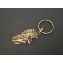 porte-clés métal relief Citroen Visa, Super RE Chrono Gti TRS Club GT