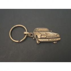 porte-clés métal relief Citroen GS, GSA