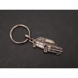 Porte-clés métal relief BMW Série 3, 316 318 320 323 325, E30