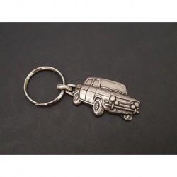 Porte-clés métal relief Simca 1000, 900, Rallye