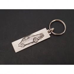 Porte-clés métal Simca 1200s coupé