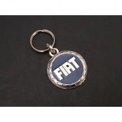 Porte-clés bleu Fiat, Panda 127 Punto X1/9 Uno Croma 124 132 126 131 850