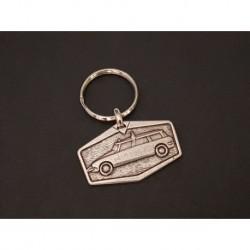 porte-clés métal Citroen ID DS break ambulance