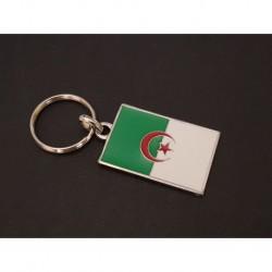 porte-clés drapeau émaillé Algérie