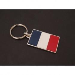 porte-clés drapeau émaillé France