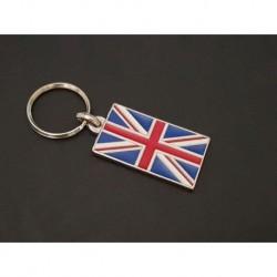porte-clés drapeau émaillé Royaume-Uni, Union Flag, Union Jack