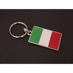 porte-clés drapeau émaillé Italie