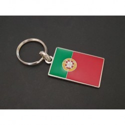 porte-clés drapeau émaillé Portugal