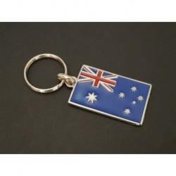 porte-clés drapeau émaillé Australie