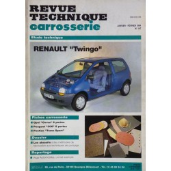rtc revue technique carrosserie renault twingo i. Black Bedroom Furniture Sets. Home Design Ideas