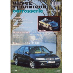 Technique carrosserie Rover 400 (HH-R)