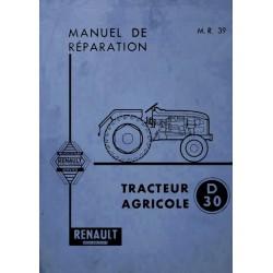 Renault D30, N71, E71 et V71 (R7051), manuel de réparation