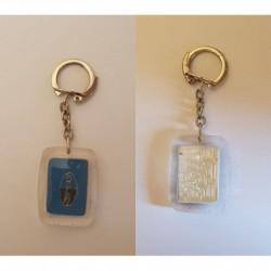 porte-clés EKY bas nylon Paris, labyrinthe à bille mobile (pc)