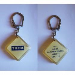porte-clés TROX, rue Tombe Issoire Pris 14e (pc)