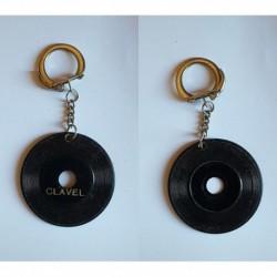 porte-clés disque Clavel (pc)
