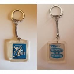 porte-clés 7set 7 set, fret maritime aérien, Clichy, visiomatic (pc)