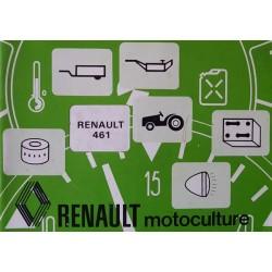 Renault 461 types R7441, notice d'entretien