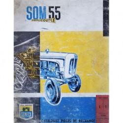 Someca SOM 55 Amplicouple, catalogue de pièces