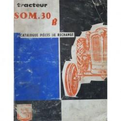 Someca SOM 30B, catalogue de pièces