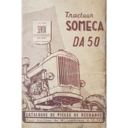 Someca DA50, catalogue de pièces