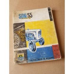 Someca SOM 55 Amplicouple, catalogue de pièces original