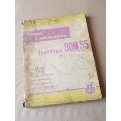 Someca SOM 55 Amplicouple, manuel de réparation original