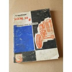 Someca SOM 30B, catalogue de pièces original
