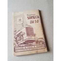 Someca DA50, catalogue de pièces original