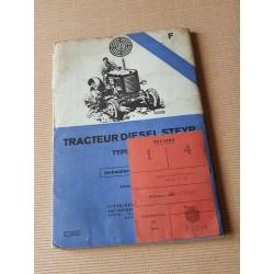 Steyer Type 180A, notice d'entretien original