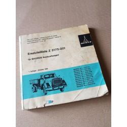 Deutz Magirus 200 D et 210 D, catalogue de pièces original