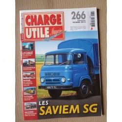 Charge Utile n°266, Saviem SG, Volvo FH, élévateurs, Neoplan, Opex, Debergue Translocad