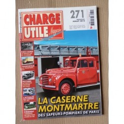 Charge Utile n°271, Berliet GLR, Huber, Neoplan, tours cyclistes, mines de cuivre Katanga, ATA