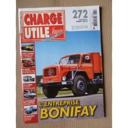 Charge Utile n°272, Berliet GLR, Jeep, tours cyclistes, Neoplan, mines du Katanga, Bonifay