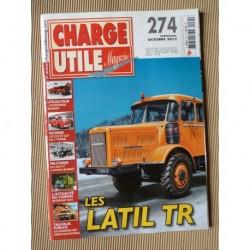 Charge Utile n°274, Latil TR, Jeep, tours cyclistes, mines de cuivre, Neoplan, Bonifay