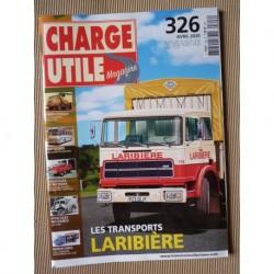 Charge Utile n°326, Henschel, Dressta, Fourchet, CMP, Land Rover Forward Control, Laribière