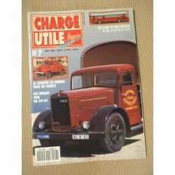 Charge Utile n°7, Citroën T23 Heuliez, Sinpar, Pegaso II, 202 DMA, Bernard, Kégresse, Savien S45 S53 S105, Jean Richard