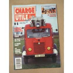 Charge Utile n°8, Vendeuvre, Mack N, Renault 2,5t, Bernard, Berliet GD, Currus, Rancy