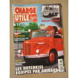 Charge Utile n°71, Berliet Maroc, Fordson 1945-62, Corpet-SEB-Mac, Alpes-Littoral