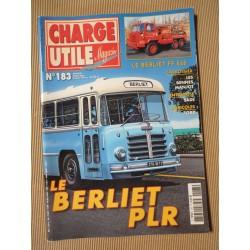 Charge Utile n°183, Ford, Richier, Berliet PLR, Renault TRM 10000, Berliet FF, Manjot, SADE