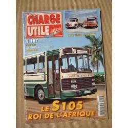 Charge Utile n°187, Unic, Ford, Richier, Saviem S105, Aubert, Penduff