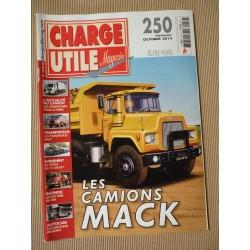 Charge Utile n°250, Mack, Cletrac, Letourneau Wabco, VAB, Cars Bleus Frossard, Siret