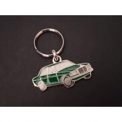 Porte-clés profil w123 200, 220 230 240 280 300 (vert)